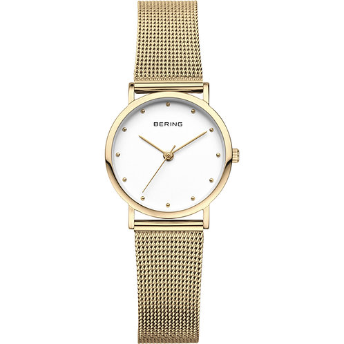 Bering Classic | Polished Gold | Ladies Watch  | 13426-334