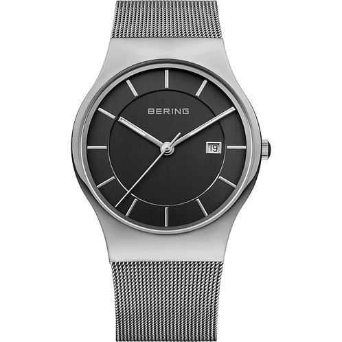 Bering Mens Watch | Date | Black Dial
