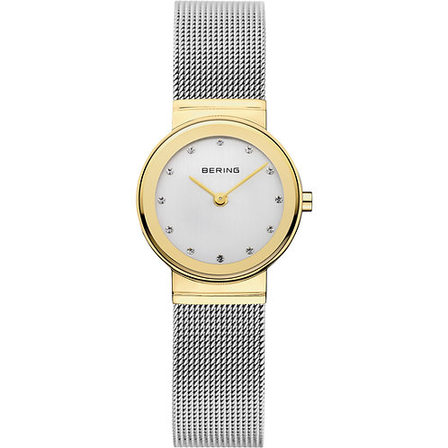 Bering Classic Polished Gold Watch  10126-001