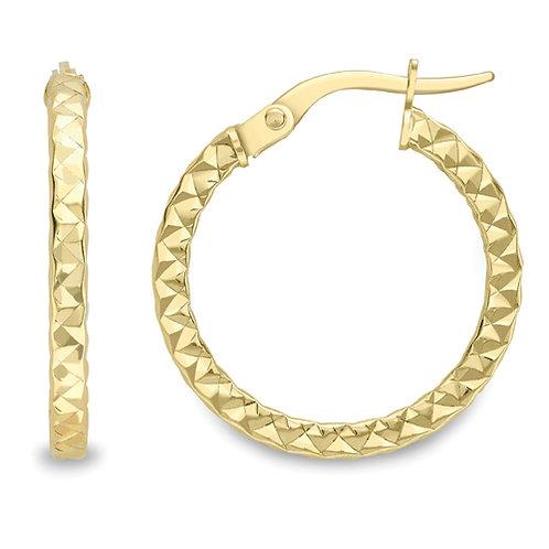 Detailed Hoop Earrings
