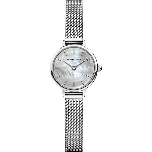 Bering Watch Ladies Classic Mother of Pearl Face