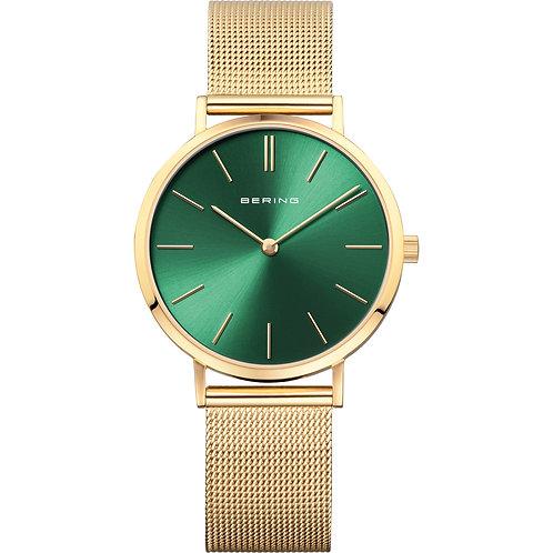 Bering Classic Green Ladies Watch 14134-338