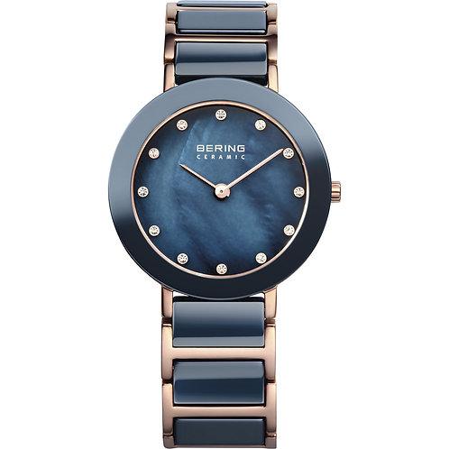 Bering Blue Ceramic Watch | 11429-767