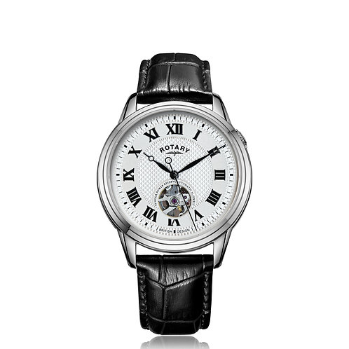 Rotary Cambridge Automatic Stainless Steel Watch
