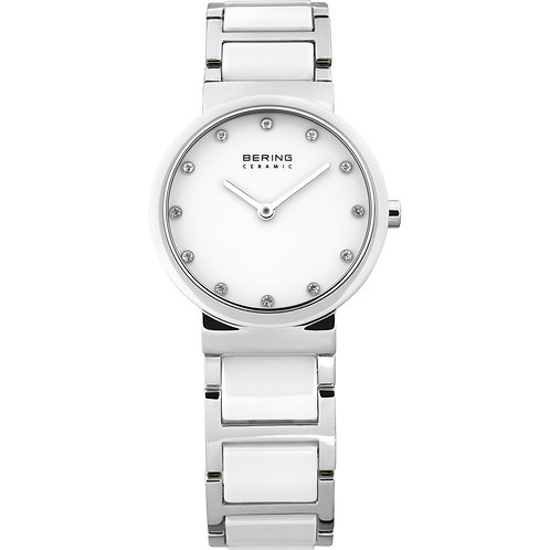 Bering White Ceramic Watch 10729-754