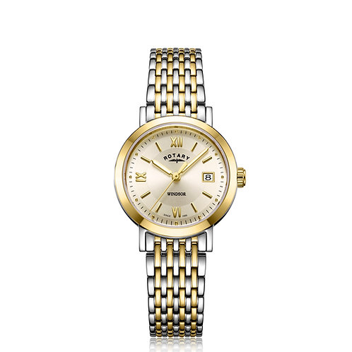 Rotary Two Tone Gold Windsor Watch LB05301/09