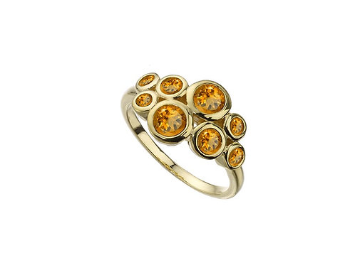9ct Yellow Gold Bubble Blower Ring 6825YCT
