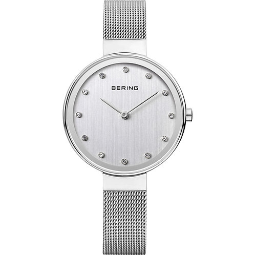 Bering Classic Ladies Watch Polished Silver  12034-000