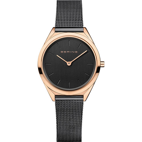 Bering Ultra Slim | Rose Gold Watch  | 17031-166
