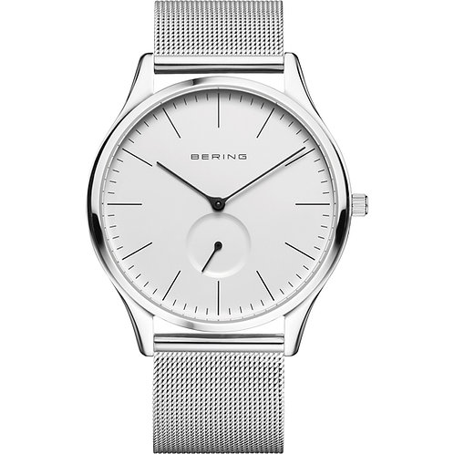 Bering Classic Polished Silver Watch  16641-004