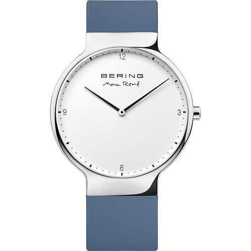 Bering Mens Watch - Max René Polished Silver 15540-700