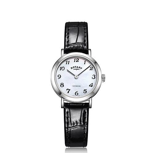Rotary Ladies Stainless Steel Windsor Watch LS05300/68
