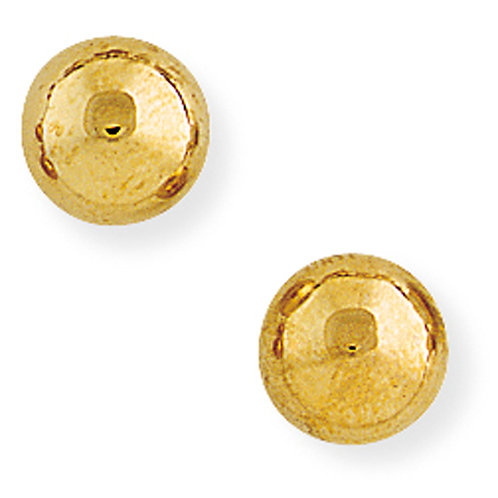 9ct 8mm Ball Stud Earrings