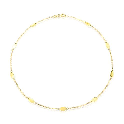 Disc Design Necklace