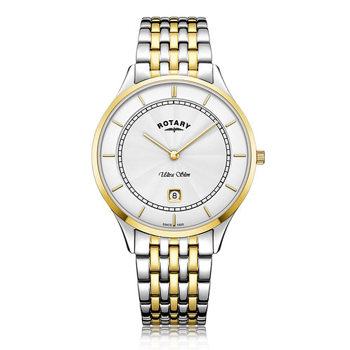 Rotary Two Tone Gold Quartz Watch
