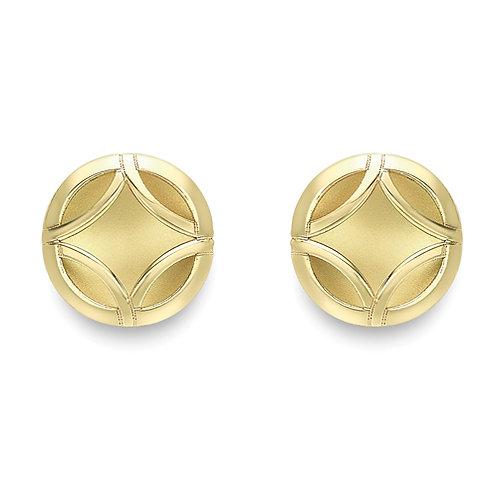 Motif Stud Earrings