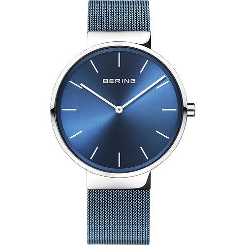 Bering Unisex Classic Watch Blue Face 16540-308