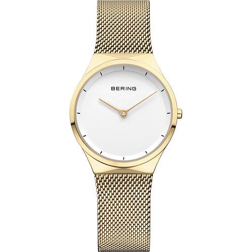Bering Ladies Gold Watch  | 12131-339