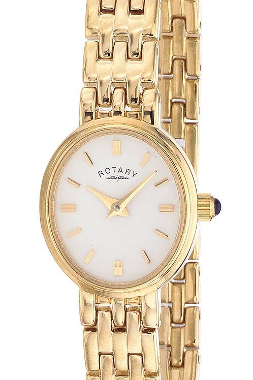 Rotary Ladies Gold  Bracelet Watch LB02084/02