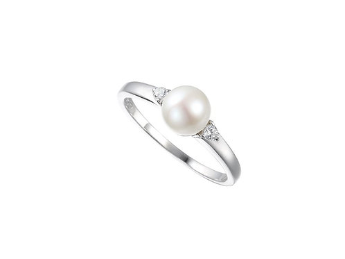 Full Moon Sterling Silver Ring 6076SILCZ/PL