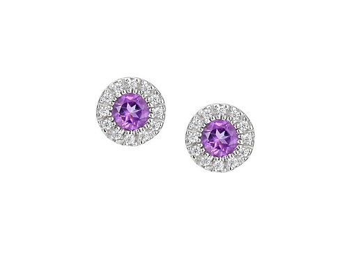 Sweet Violet Earrings