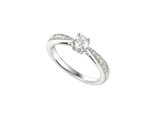 It's Love Sterling Silver Ring 7597SILCZ