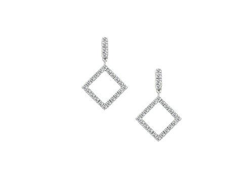 9ct Diamond Square Winnie Droplets 6475WZD