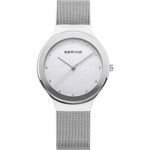 Bering Ladies Polished Silver Wrist Watch 12934-000