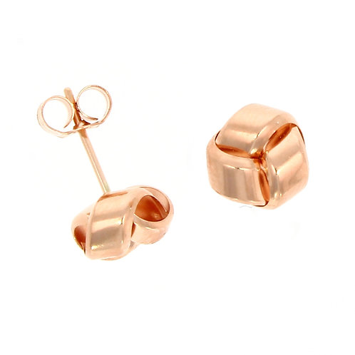 Rose Gold Simple Knot