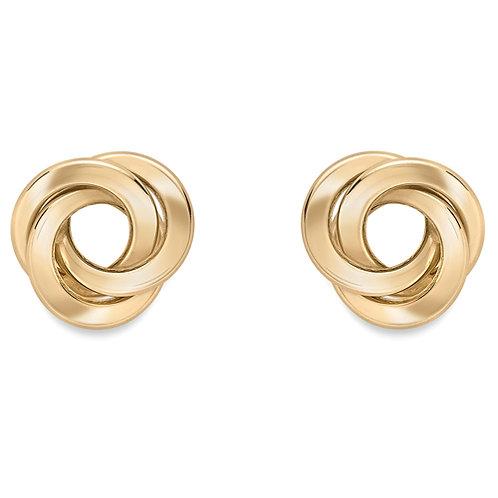 Open Knot Stud Earrings