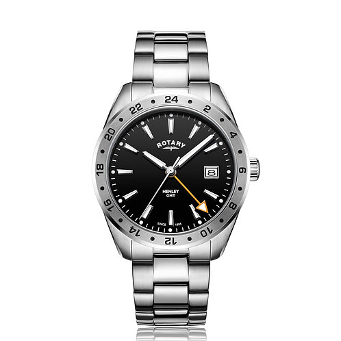 Rotary Gents Watch GMT Henley GB05295/04