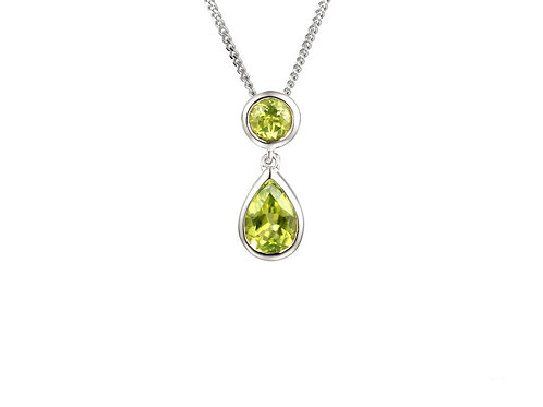 Rubover Set Duo peridot necklace 6199WPER