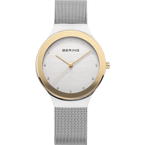 Bering Classic Ladies Gold/Silver Watch 12934-010