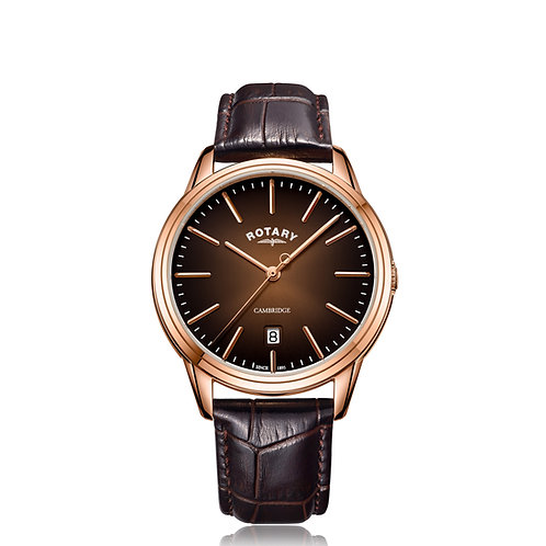 Rotary Cambridge Rose Gold  Quartz Watch GS05394/16