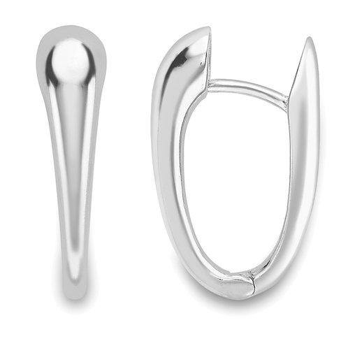 Modern Huggie Earrings