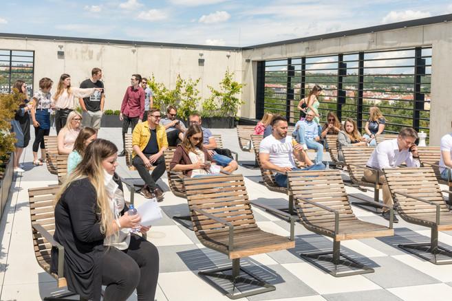 Terasa na čerstvém vzduchu | Pronájem prostor | enforum v Praze