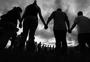Praying-Together-BW.jpg