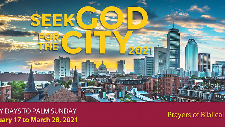 The Fight | Seek God for Your City | For International Visitors