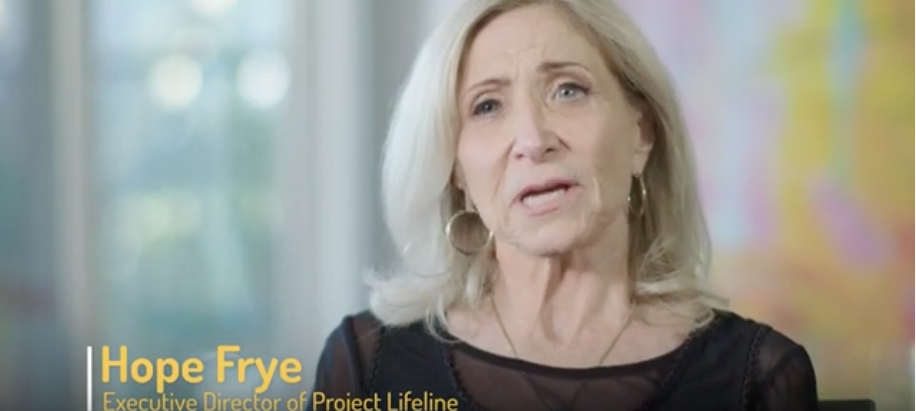 Hope Frye discusses Project Lifeline and Raise Your Voice