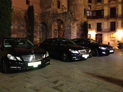 Flota coches de alquiler con chofer