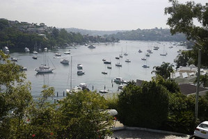 Nice view yesterday at the Cammeray Mari