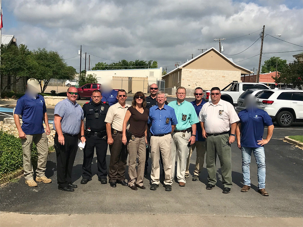 SAS Team and Bonham, Police Department