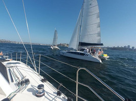 Racing day in Sydney Harbour ! ⛵🌬️👌_#m