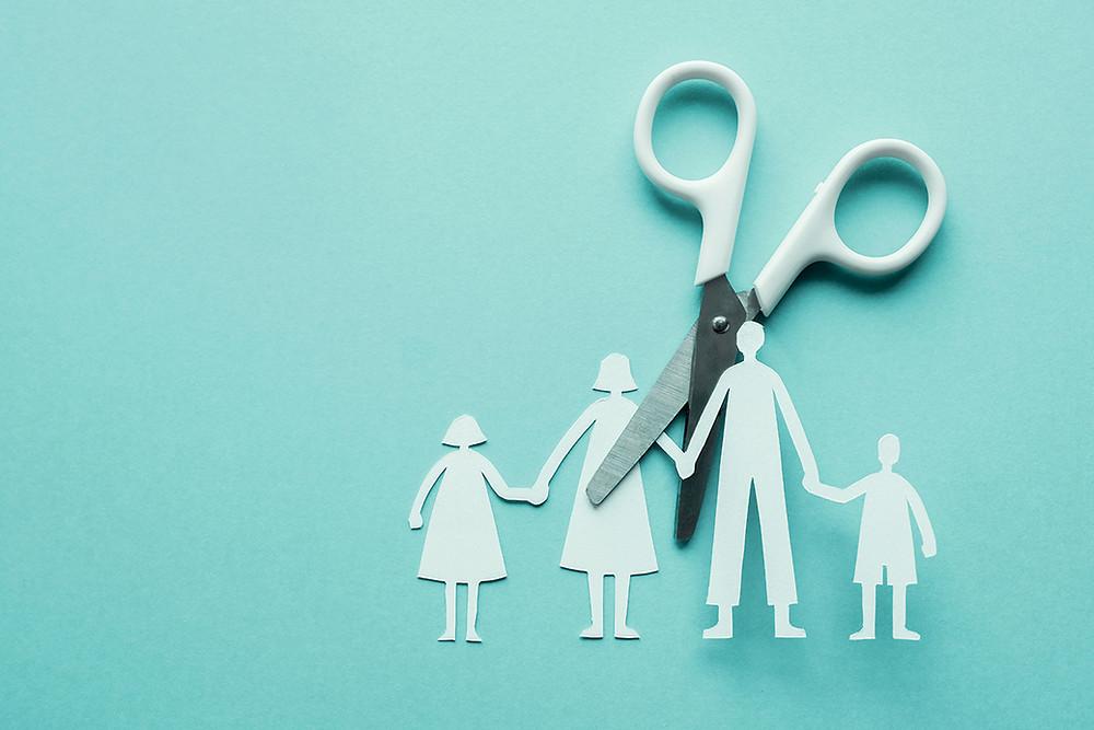 תמיכה במצבי פרידה וגירושין