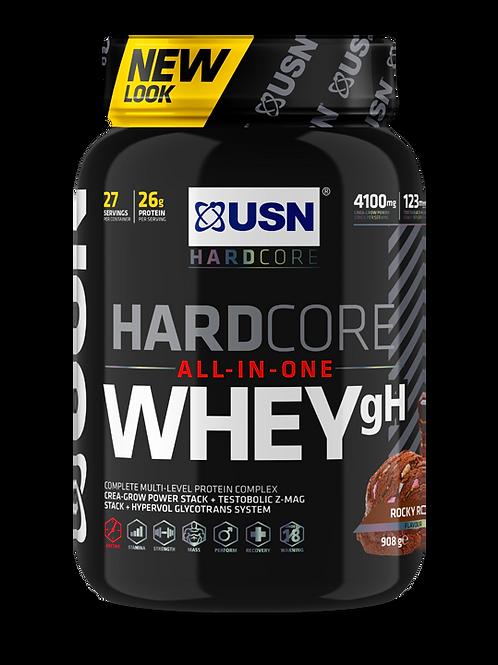 USN Hardcore Whey GH 1kg