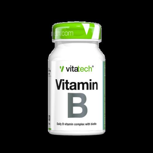 NUTRITECH VITATECH VITAMIN B  30CAPS