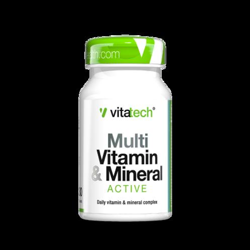 NUTRITECH VITATECH MULTI VITAMIN & MINERAL 30CAPS