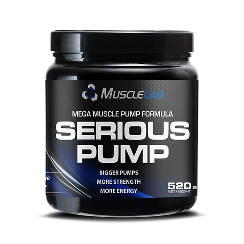 PRO NUTRITION Muscle Lab Serious Pump 520g