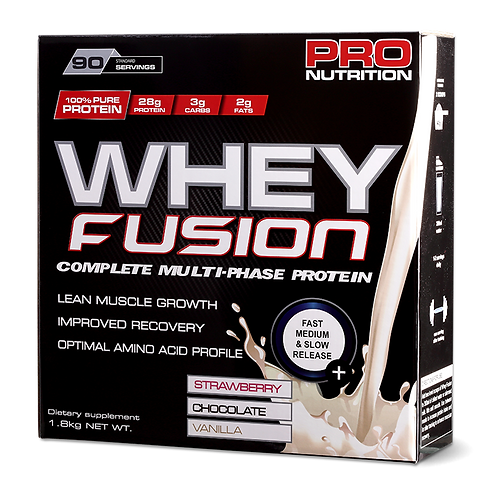 Pro Nutrition Whey Fusion 1.8Kg