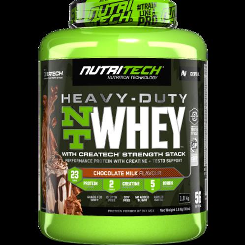 NUTRITECH HEAVY-DUTY NT WHEY 4Lbs (1.8kg)